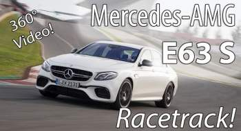YouTube-Video: 360° Tracktest: 2016 Mercedes-AMG E63 S 4MATIC+ (W213) Fahrbericht und Review