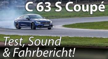 YouTube-Video: 2016 Mercedes-AMG C63 S Coupé | Test, Sound & Fahrbericht!