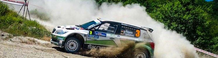 Mit Škoda zum IRC Rally Lauf in San Marino – WOW!