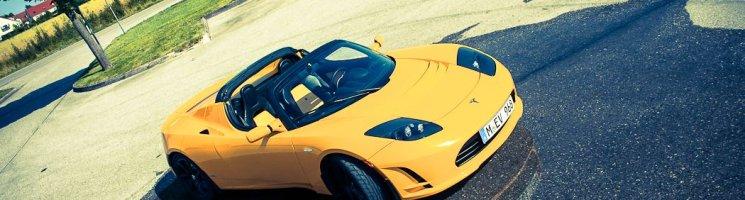 Unterwegs im Tesla Roadster – Automobiles Higgs-Boson