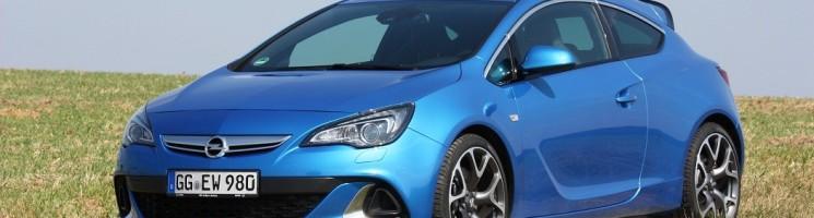 Jens auf Tuchfühlung mit dem Opel Astra OPC