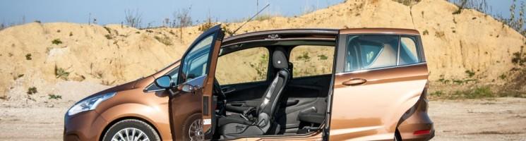 Praktischer Familien-Mini-Van – Ford B-MAX Ersteindruck