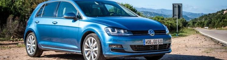 Erstkontakt mit dem neuen VW Golf 7