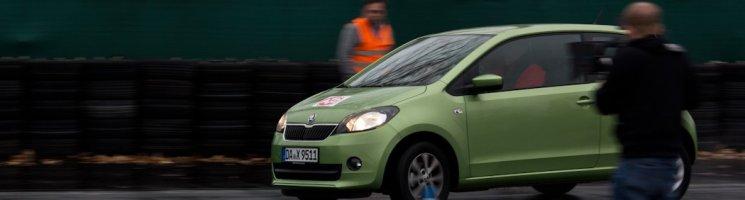 Fahrsicherheitstraining mit dem Škoda Citigo