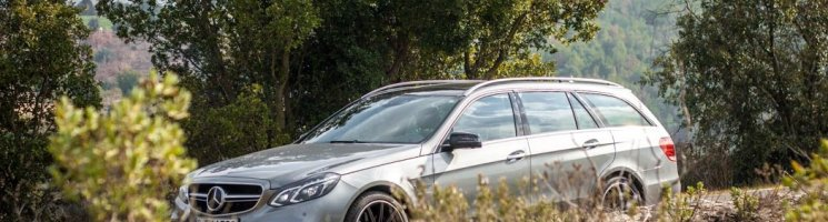 Mit der Ruhe eines Axtmörders: Mercedes-Benz E63 AMG S 4Matic