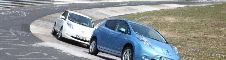 Im Stromer über die Nordschleife: Nissan Leaf in der Grünen Hölle