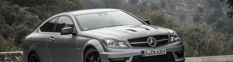 Mein Schatz: Mercedes-Benz C63 AMG Coupé Edition 507