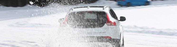 Volvo Wintertestfahrten mit den neuen Drive-E Motoren