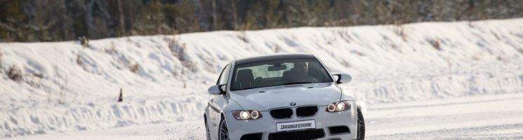 Bridgestones Gespür für Schnee – Unterwegs im bespikten BMW M3