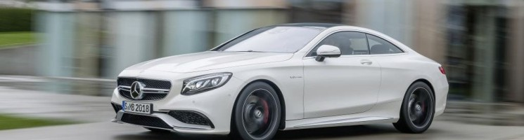 Groß, dick, aber sexy: Mercedes-Benz S63 AMG Coupé gezeigt