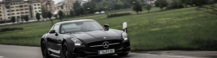631 PS kennen keine Gnade – Mercedes-Benz SLS AMG Black Series Fahrbericht