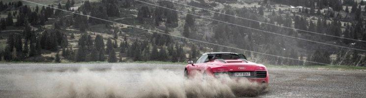 #thepluses2 – Reifenpannen, Kühe, Drifts: Einstieg in die Route des Grandes Alpes