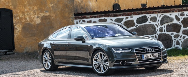 Sport. Business. Diesel. Audi A7 Sportback 3.0 TDI competition Facelift im Fahrbericht