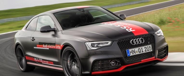 Des Diesels sportliche Kleider: Audi RS 5 TDI Concept