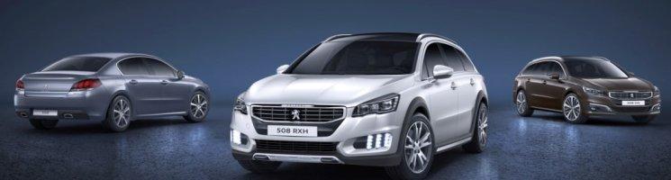 Werbung: Peugeot 508 – bester, junger Gebrauchter seiner Klasse laut GTÜ