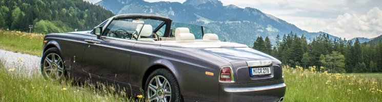Herbsttraum: Rolls-Royce Phantom Drophead Coupé Fahrbericht
