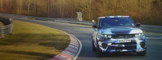 Range Rover Sport SVR: SUV-Rundenrekord auf der Nordschleife!