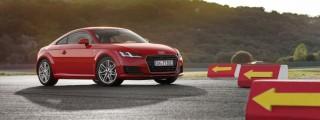 Anzeige: der aus dem Himmel kam – das neue Audi TT Coupé