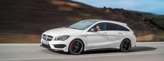 Familienkutsche Deluxe: Neuer Mercedes-Benz CLA 45 AMG Shooting Brake