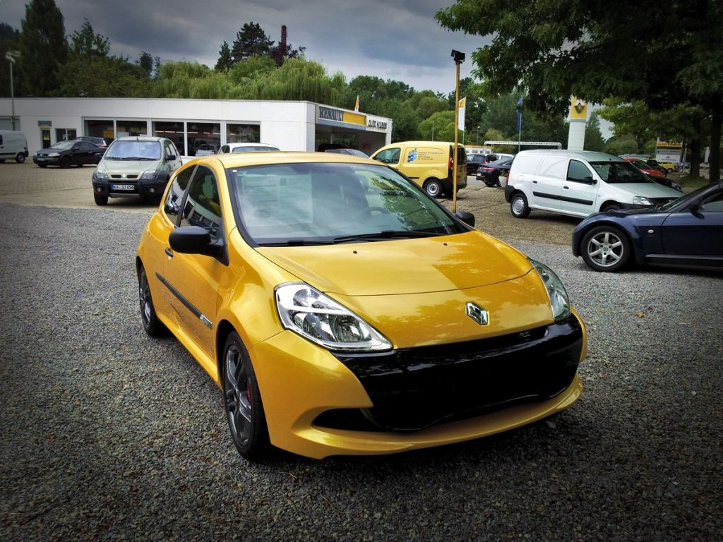Renault Clio RS Frontansicht