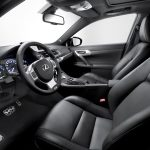 Lexus CT 200h F-Sport Innenraum