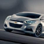 Chevrolet Tru 140S Konzept Frontansicht