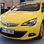 Opel Astra GTC Frontansicht
