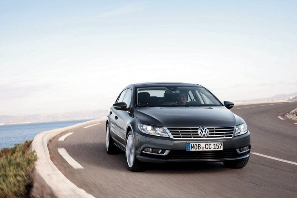 VW CC Front