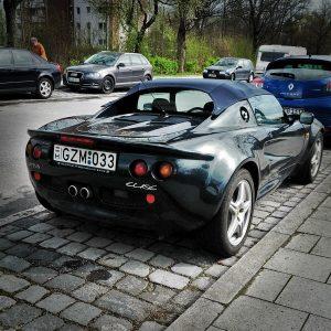 Lotus Elise MK1 Heckansicht