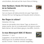 """Best-Of"" der deutschen Auto-Blogger per Currents aufs Smartphone oder Tablet"
