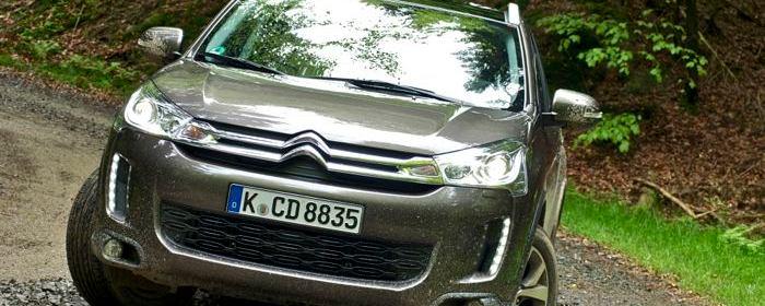 Citroën C4 AirCross Frontansicht