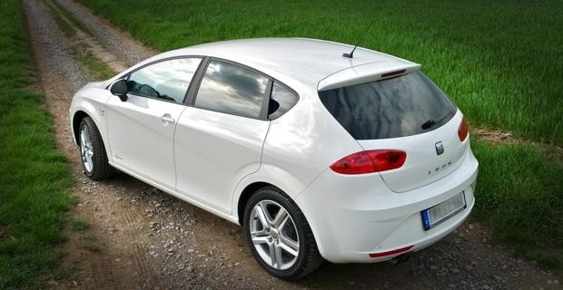 Seat Leon 1.4 TSI Heckansicht