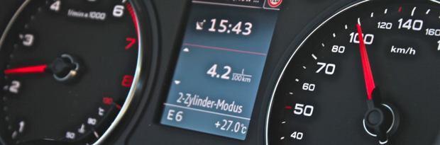 "Audi A3 (8V) Zylinderabschaltung ""cylinder-on-demand"""