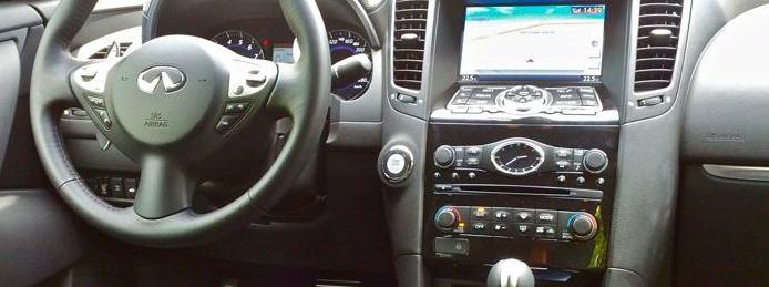 Infiniti FX50 - Cockpit