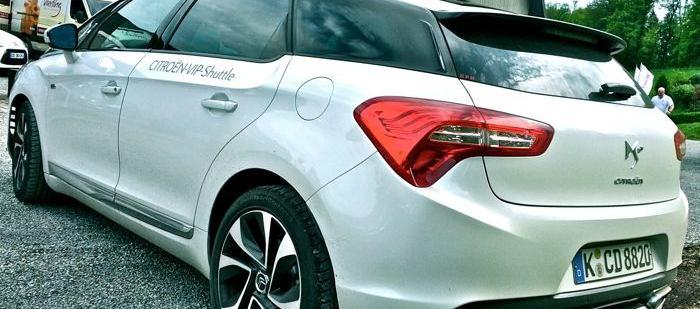 Citroën DS5 Heckansicht