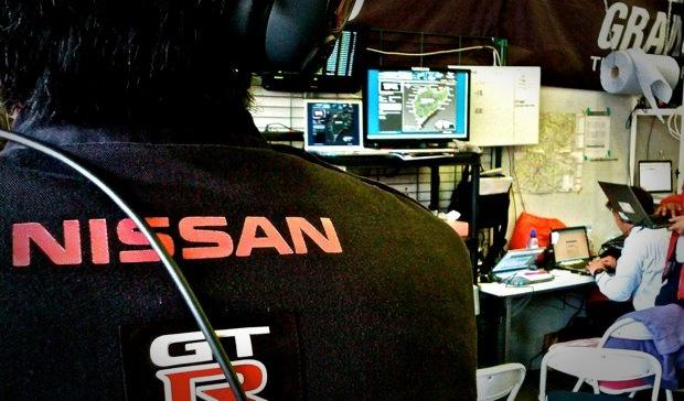 24h Rennen - in der Nissan GT-R Box