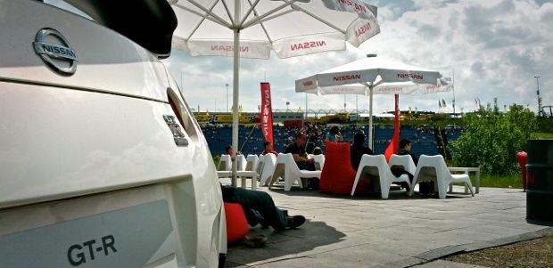 24h Rennen - Nissan Race Camp