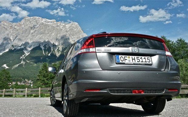 Honda Insight Heckansicht