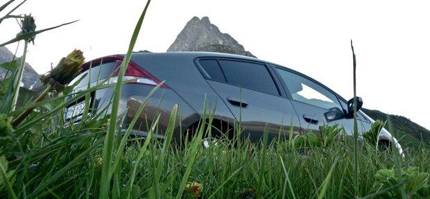 Honda Insight Grass