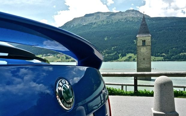 Skoda Octavia RS am Reschensee