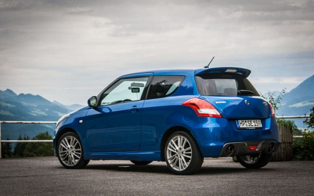 Suzuki Swift Sport Testwagen