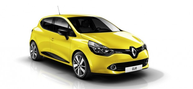 Renault Clio IV Gelb