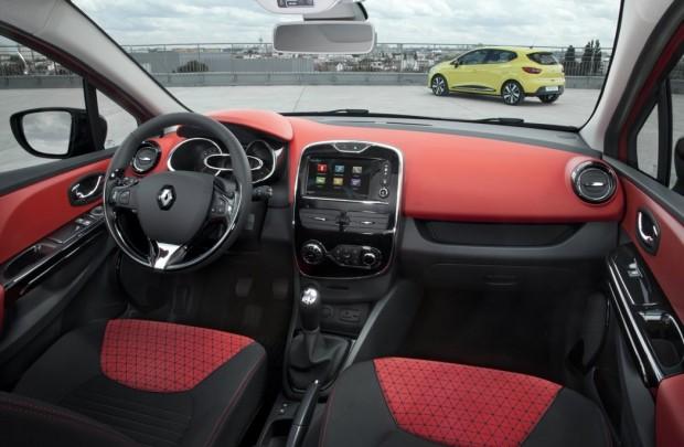 Renault Clio IV Innenraum
