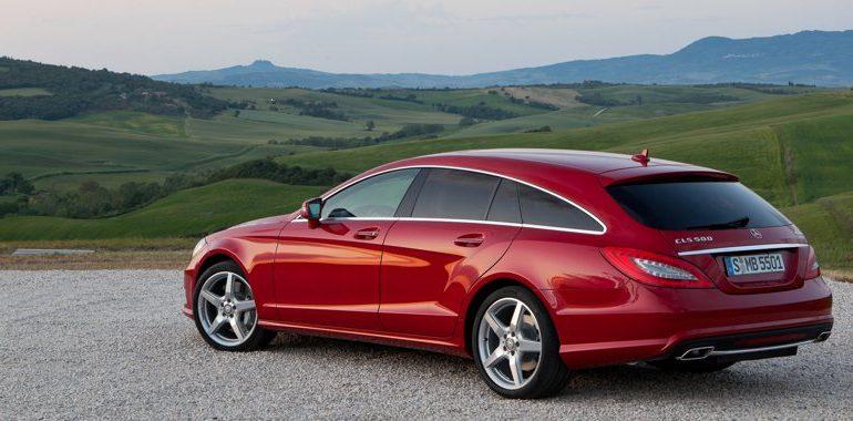 Mercedes-Benz CLS Shooting Brake Titelbild