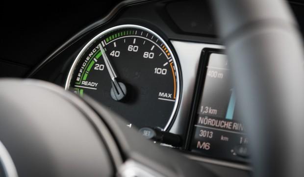 Audi Q5 hybrid Ladezustand