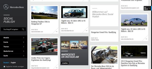 Mercedes-Benz Social Publish