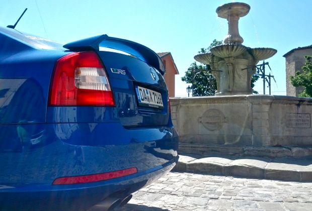 Škoda Octavia RS Heckspoiler