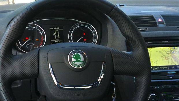 Škoda Octavia RS Innenraum