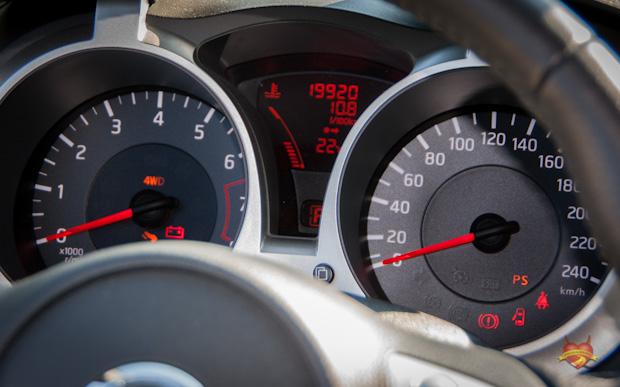 Nissan Juke TEKNA DIG-T 4x4 Tacho