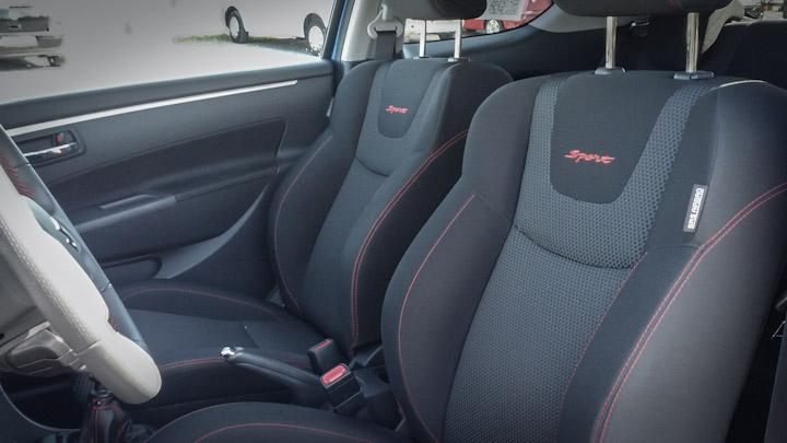 Suzuki Swift Sport Innenraum